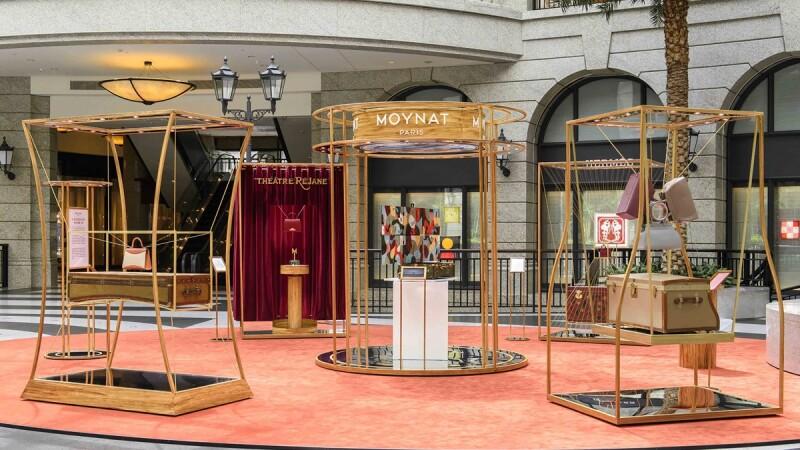 MOYNAT萬花筒巡迴展Bellavita登場!旅行箱、手袋作品揭開法式工藝的秘密