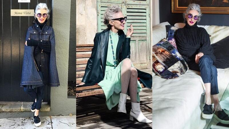 71歲依舊閃閃發亮!銀髮超模Linda Rodin的極簡穿搭保養教學!