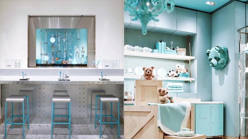 整間Tiffany Blue的大理石咖啡廳!Tiffany & Co. 紐約第五大道旗艦店加入Café、家飾系列空間
