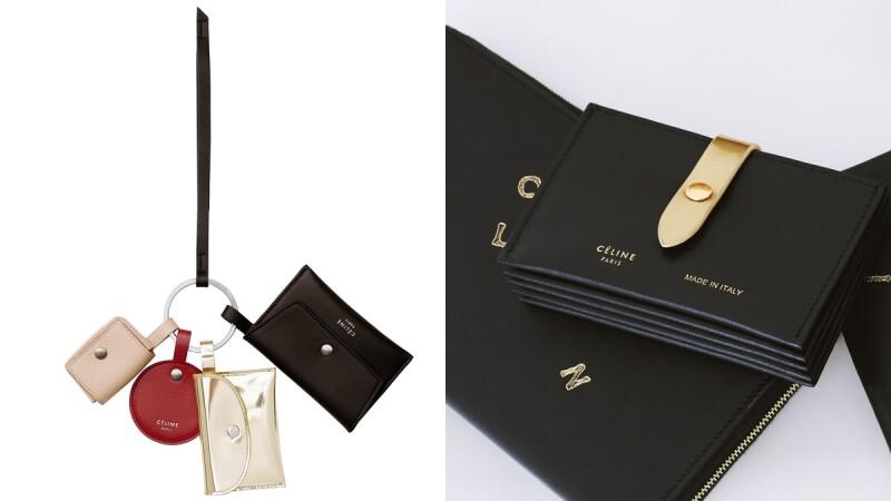 今年聖誕禮物到這裡挑!7款烙印黑金配色Céline logo的聖誕皮件系列來了