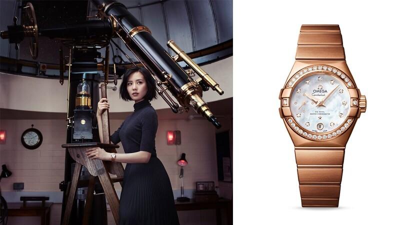 腕錶中的經典 全新歐米茄星座系列絲柔展現美好時刻