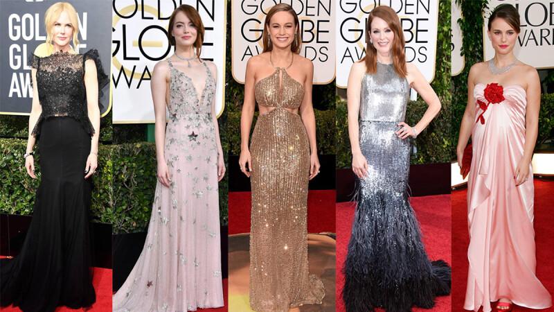 如果有機會封后你要穿什麼?盤點過去10屆金球奬影后的得獎造型&服裝品牌
