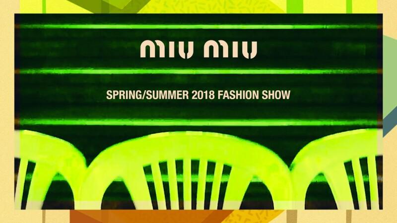 【Live】線上看!Miu Miu 2018秋冬大秀,將在3/6晚上9點半登場