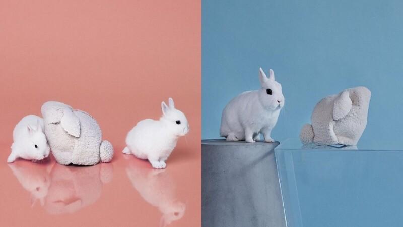 粉嫩格紋、圓滾毛絨,Loewe推出全新Bunny Bag讓人少女心大噴發!
