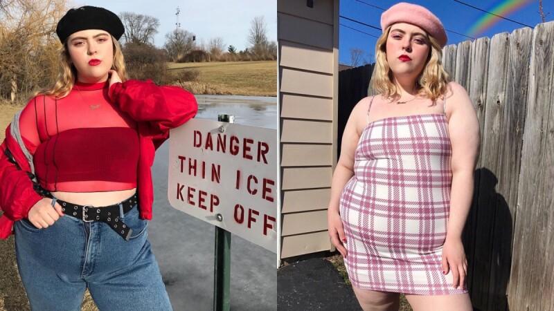 不懼世俗審美觀,棉花糖女孩 Jessica Blair用正面態度向你證明時尚穿搭無關身材!