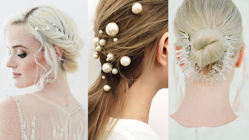 不要只知道戴桂冠!清新透明系新娘挑選指南:帶著美好寓意的頭飾篇