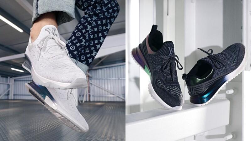 繼搶眼誇張的 Archlight 球鞋後,喜歡低調百搭風格的人別錯過這雙 LV 針織球鞋
