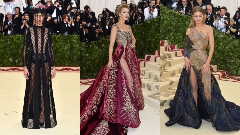 最時髦的教皇造型都在這裡!蕾哈娜、凱蒂佩芮…2018 Met Gala紅毯造型直擊