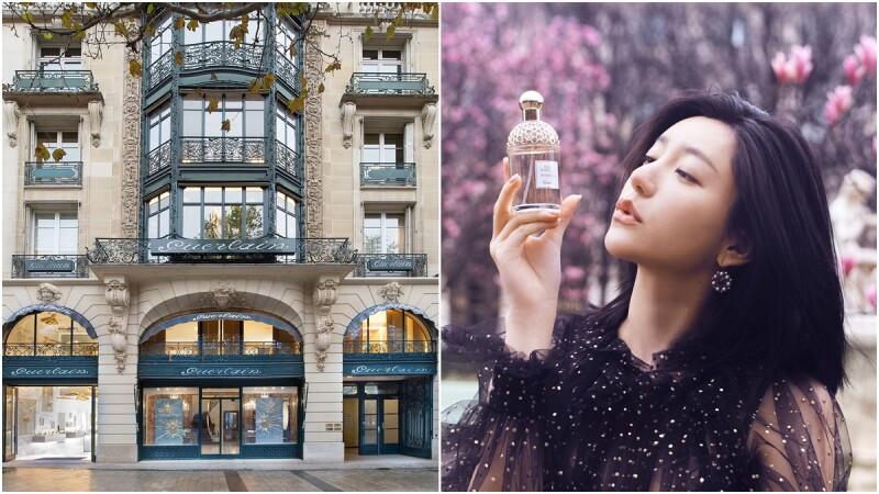 跟著郭雪芙踏上「尋香之旅」!前往巴黎香榭麗舍大道的嬌蘭全球旗艦店,體驗頂級訂製的香水