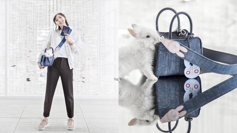 多了小兔子的Sella Bag變俏皮了!劉詩詩親自參與設計的第一個TOD'S包款曝光
