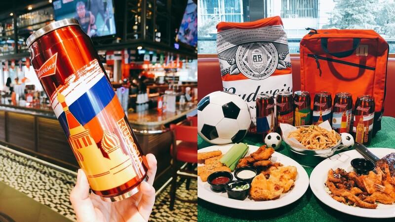 想要2018百威限量國家世界杯!店內還有章魚哥神預測,TGI FRIDAYS推出「瘋世足分享餐」