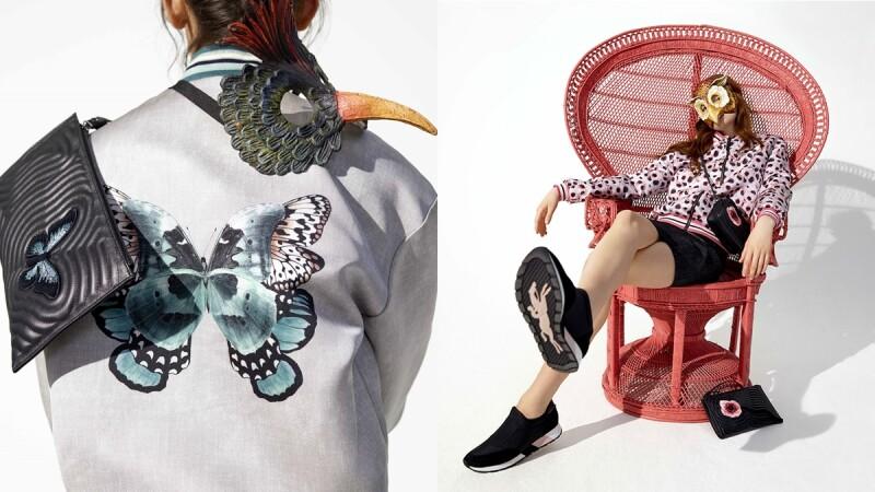 個性派女孩注意!Longchamp秋季系列以古典刺青為靈感,從服裝到配件都充滿魅惑氛圍