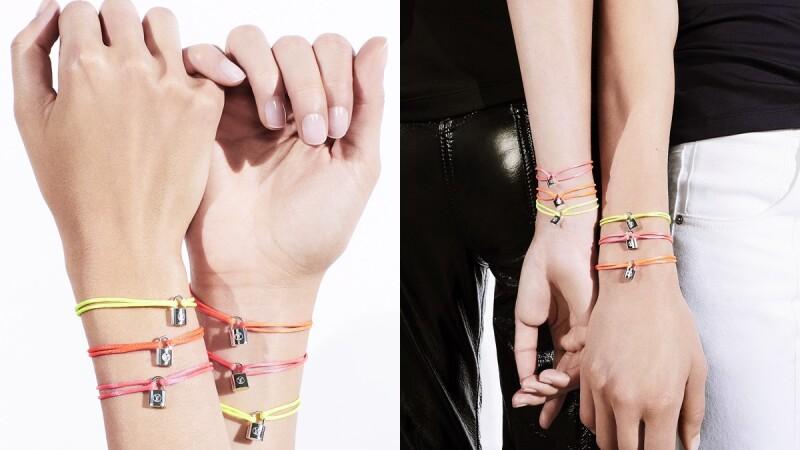 時尚也能做公益!Louis Vuitton推出關懷弱勢孩童的繽紛Silver Lockit手環