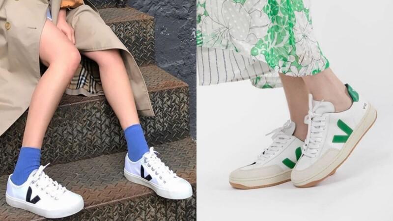 百搭小白鞋的新選擇!Emma Watson、宋仲基、孔曉振都愛不釋手的法國球鞋品牌VEJA!