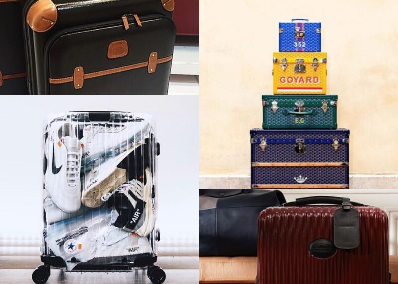 旅人必備,帶你看看這些時尚又好用的行李箱!