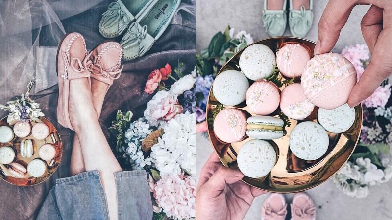 太夢幻的馬卡龍限定色!Minnetonka「乾燥玫瑰」、「淺松石綠」莫卡辛鞋美到讓人想咬一口