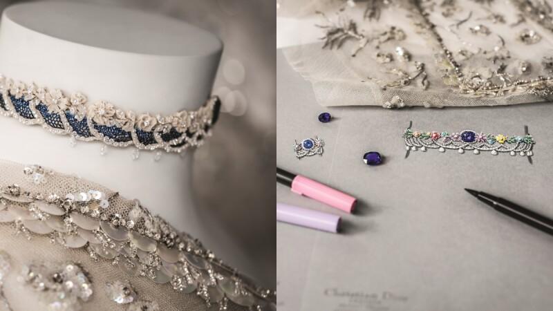 全新Dior Dior Dior高級珠寶系列,以細膩精美的蕾絲樣貌牽引你的視覺感受!