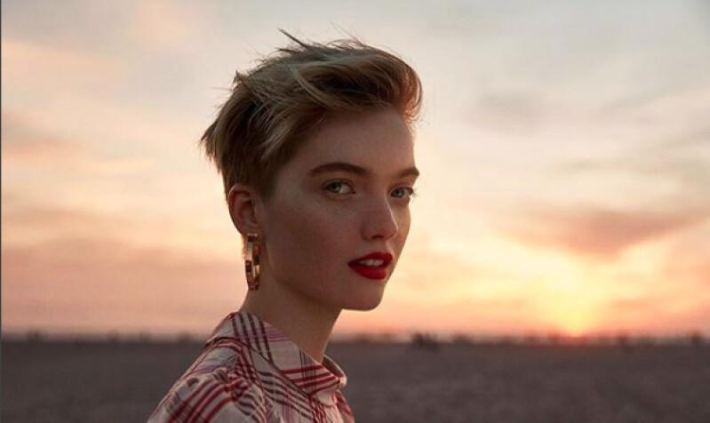 中性模特Ruth Bell,優雅美麗的同時又酷帥的讓人著迷!