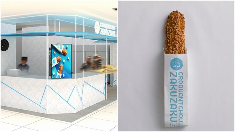 進駐台北車站微風2樓!北海道ZAKUZAKU棒棒泡芙開台北第2家新店,更推出全新黑白巧克力棒棒泡芙