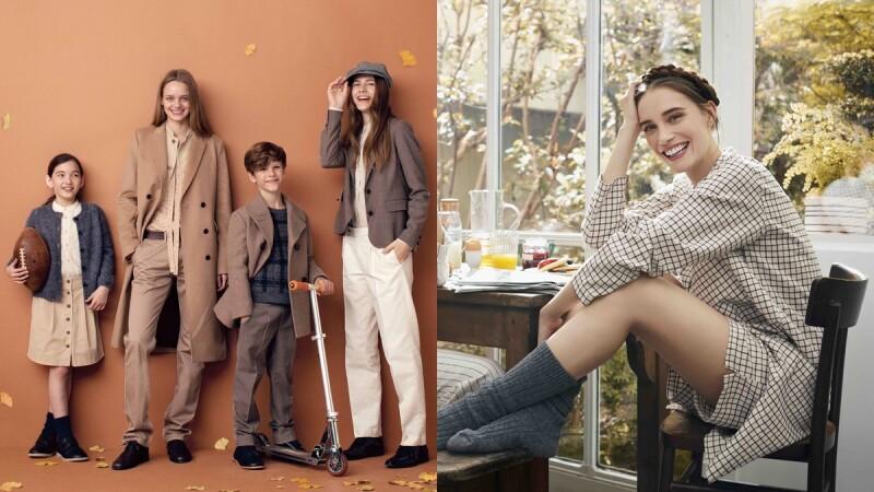 時髦親子檔必須收藏!UNIQLO x 伊內絲法桑琪聯名系列,第一次推出童裝單品