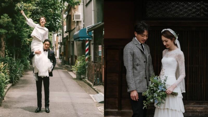 美得像日劇劇照!坤達、柯佳嬿浪漫婚紗照釋出,兩套清新脫俗婚紗造型原來是這個牌子