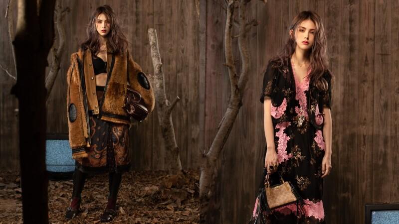 性感壞女孩這個秋冬就該這樣穿!昆凌這樣搭COACH新品穿出帥氣魅惑新風格