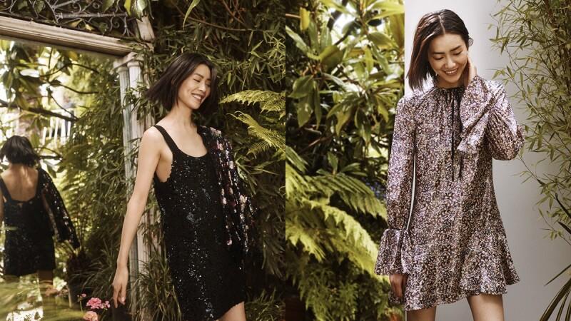 以古典地毯為靈感!劉雯率性詮釋H&M Conscious Exclusive第一次的秋冬系列