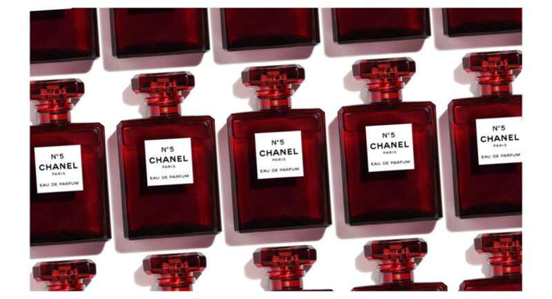【必收】不是惡搞,玩真的!台灣也上市,香奈兒推出限量版紅色N°5、清新晨露淡香水