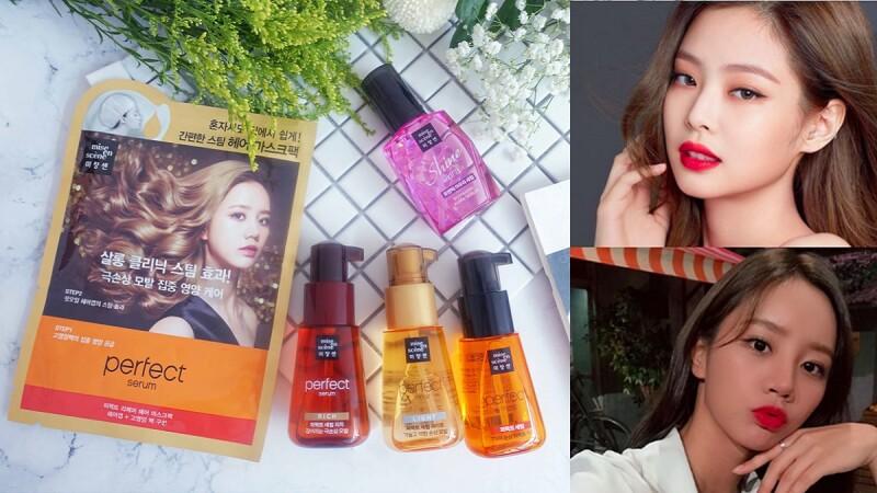 連BLACKPINK Jennie都愛用的粉紅瓶護髮油 稻草髮也能秒閃鑽石光; 秀髮養護、造型維持、約會急救全靠它!