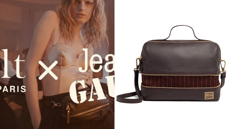大師級跨界合作!時尚頑童Jean paul Gaultier與法國手包品牌Lipault的經典叛逆創作!