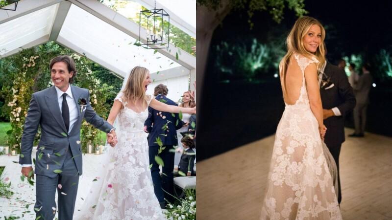 小辣椒結婚了!葛妮絲派特洛低調舉辦清新風戶外婚禮,簡直是夢幻婚禮指標!