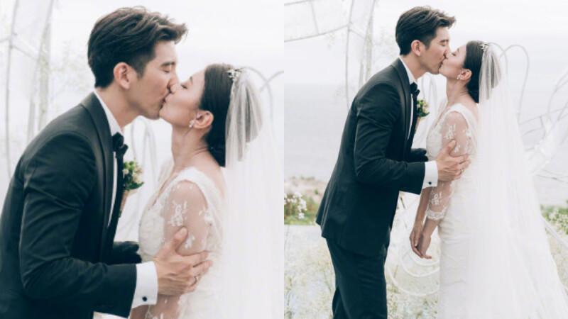 「謝謝妳願意等了三年!」相差9歲姐弟戀最美結局,賈靜雯、修杰楷峇里島浪漫完婚