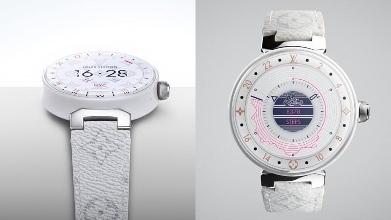 Louis Vuitton智能錶Tambour Horizon第二代新款上市!客製化錶盤圖案、新材質、新色系…讓人選擇困難症發作!