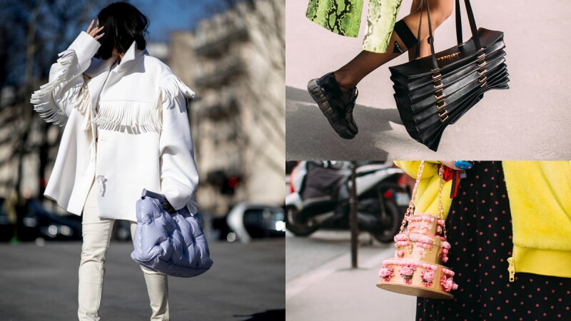 真的是「怪美的」!時裝週街拍曝光率超高,這6款獵奇手袋你敢拿上街嗎