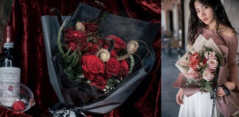 《Style Labs玩美實驗室》最充滿心意的情人節禮物,告白花束自己做!