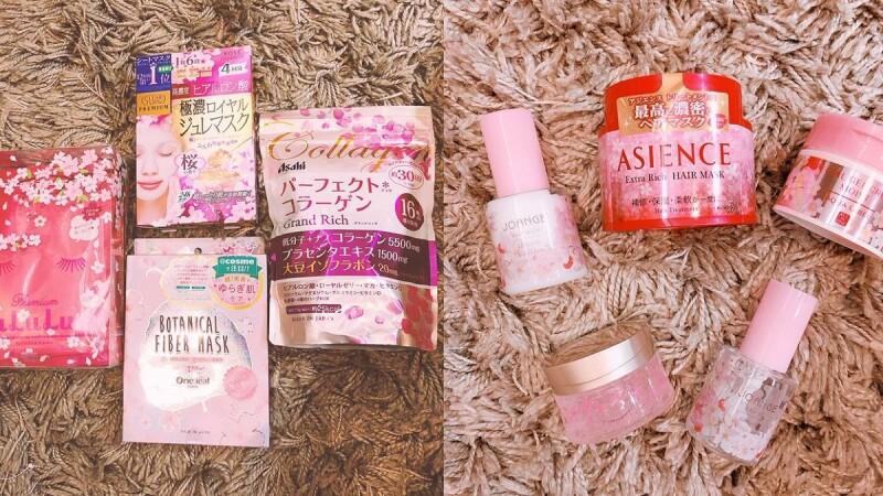 櫻花季就該衝一波日本啊!賞花同時也別忘記把這些夢幻到犯規的櫻花限定小物打包帶回!