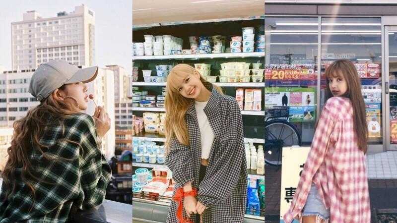 韓國IG女王Lisa時尚穿搭一點也不困難!特蒐7款平價品牌格紋襯衫完全可以直接入手