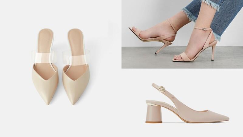 只要千元上下的價格!這6雙裸膚色跟鞋,顯白又能拉長腿部比例