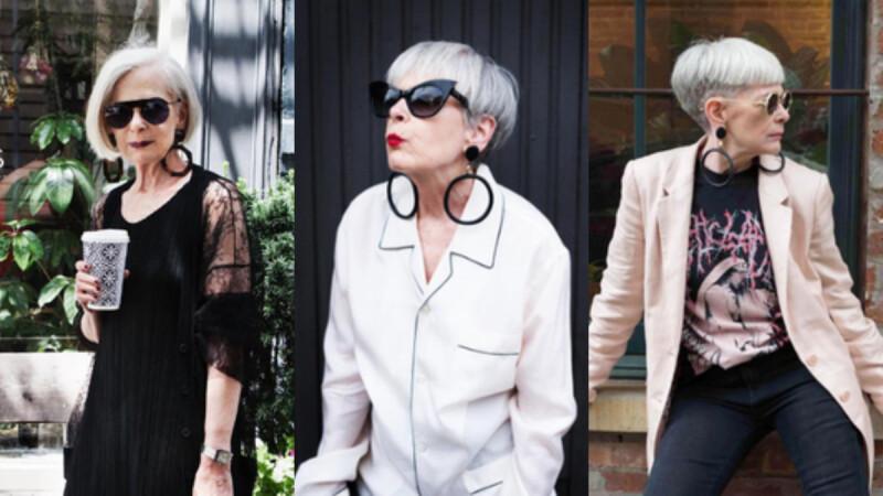 58 歲才修設計課程!Lyn Slater 內心的叛逆與時尚因子,引領她意外走上「時尚指標」之路!