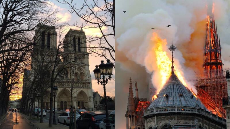 巴黎聖母院大火!法國藝術文化重地付之一炬,全球各界展開救援修復行動