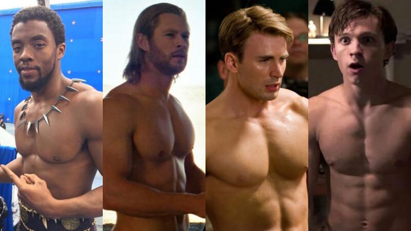 女性專屬視角!漫威Marvel英雄男角們的養眼時刻,果然還是肌肉力量最帶勁~