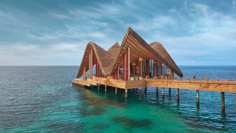 這個夏天我要去馬爾地夫!絕美的一島一飯店JOALI度假村讓你體驗絕對的藍