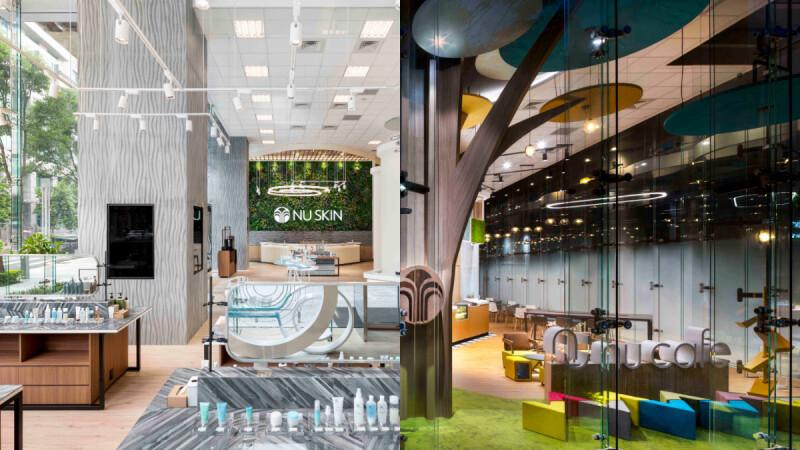 綠能建築北歐風格呈現!Nu Skin如新生活台北旗艦館 舒適愜意逛一整天也不累!