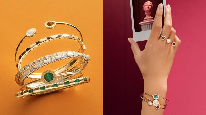 手環控請進!Bulgari寶格麗三大系列推出新手環,色彩繽紛、樣式變化多、疊戴最時髦!