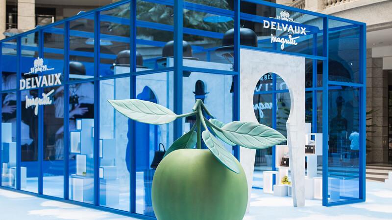 每個角落都超適合拍IG美照!DELVAUX打造超現實魔幻展覽,同步推出期間限定下午茶