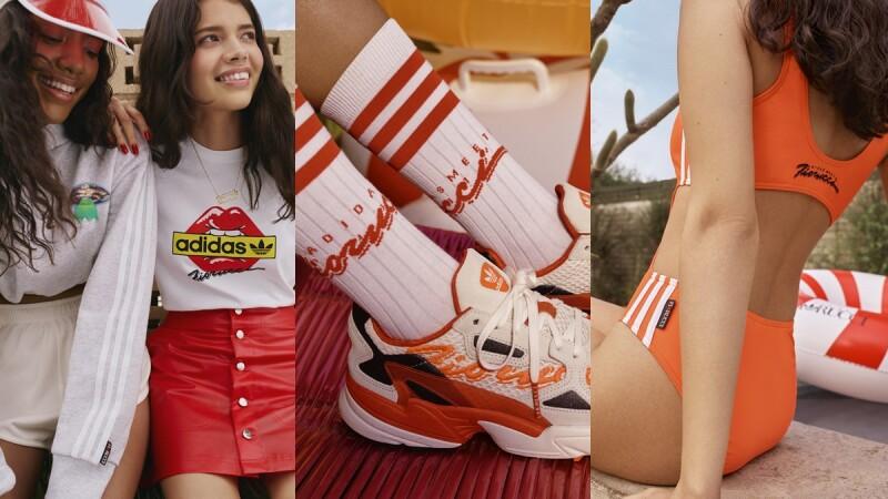 這件露腰連身泳裝也太辣!adidas Originals攜手米蘭時裝品牌Fiorucci推出超生火聯名系列
