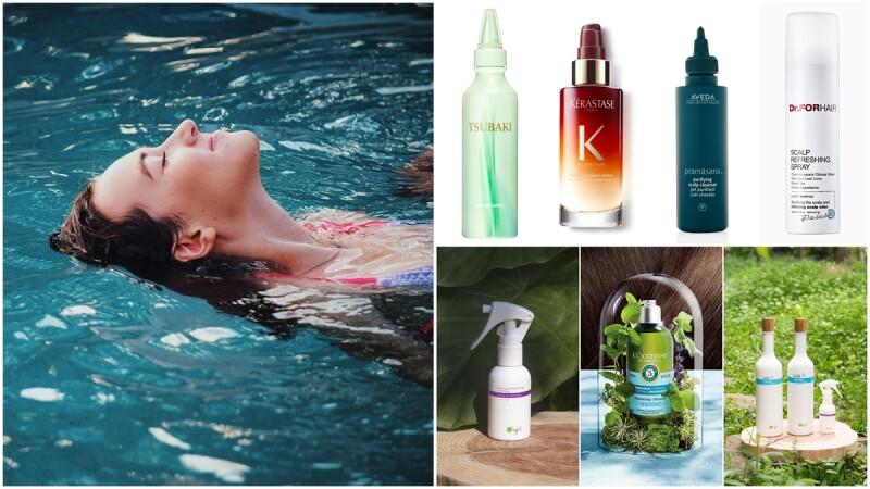 8款夏日控油髮品評比~破解「涼感洗髮精、頭皮噴霧、乾洗髮露」如何正確使用