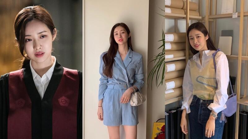 曾和朴敘俊、李鍾碩、李準基合作過!韓國新一代私服穿搭指標「車貞媛」時髦風格大解析