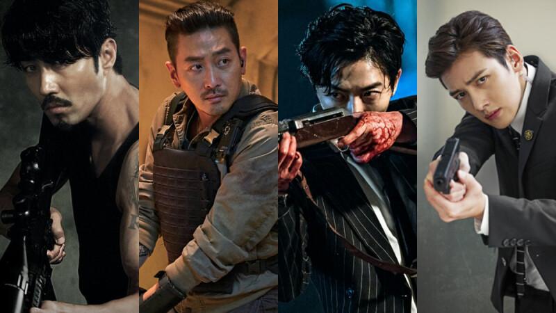 小心這個男人有把槍!韓國持槍最帥男演員,想要誰站在前面保護你,車勝元、金材昱還是河正宇?