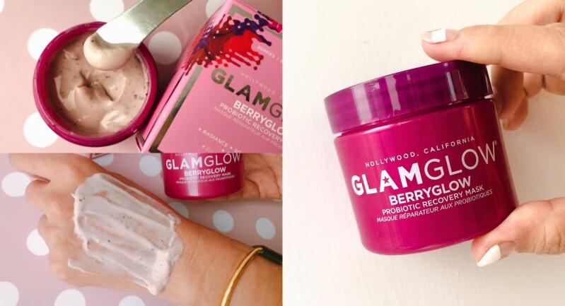 「超級食物」融入保養成為話題,Glamglow 再推出小粉紅「莓果優格青春面膜」